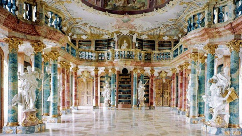 The incredible Rococo library at Wiblingen, Southwest Germany | GoNOMAD Travel