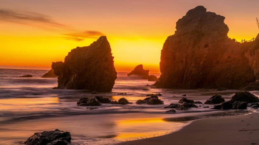 This is my favorite beach, El Matador Beach. It has been used as a filming location for many movies over the years.
