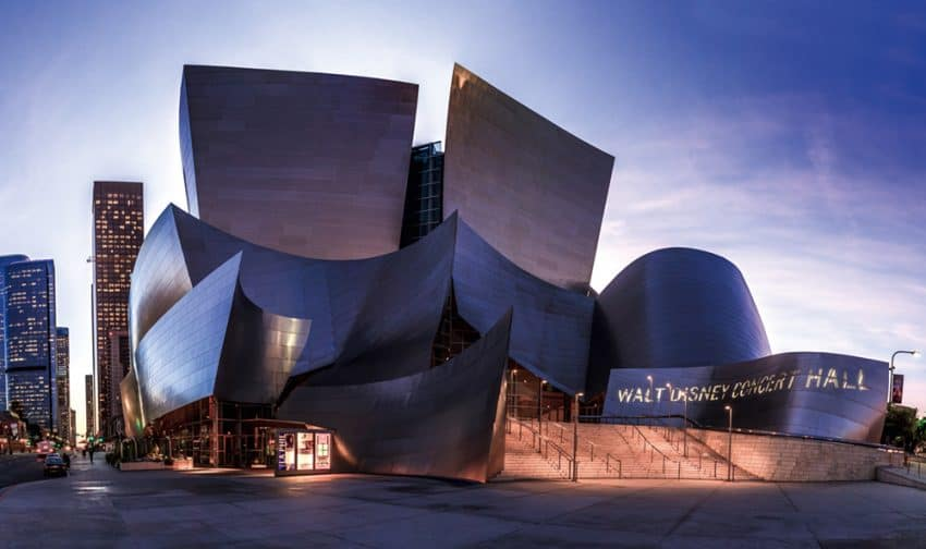 Walt Disney Concert Hall, one of my favorite pieces of architecture in Los Angeles | GoNOMAD Travel