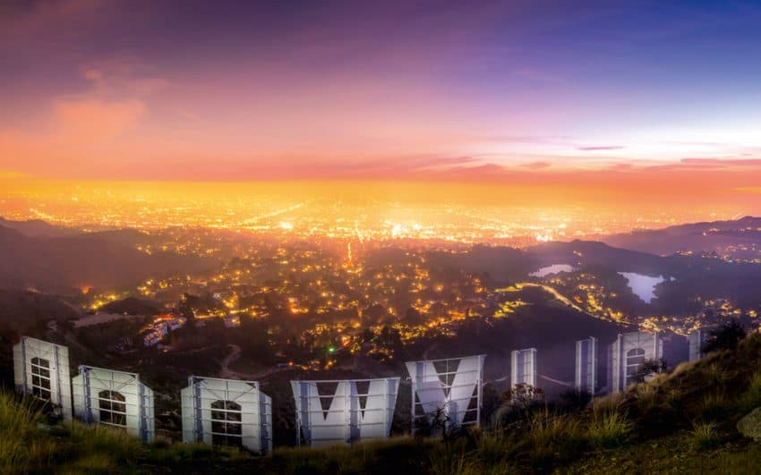 Hollywood Sign from the back. I love this location because it gives you this incredible view that includes the Hollywood reservoir on the right. Serge Ramelli photos   GoNOMAD Travel