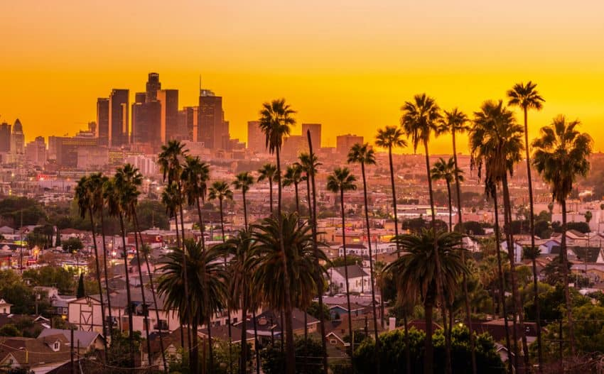 This location is a secret from a friend of mine who is a photographer in LA. I promised him I would not reveal where I took this photo from, but I love the view!