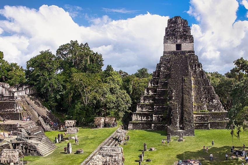 Channeling Indiana Jones at Tikal Guatemala