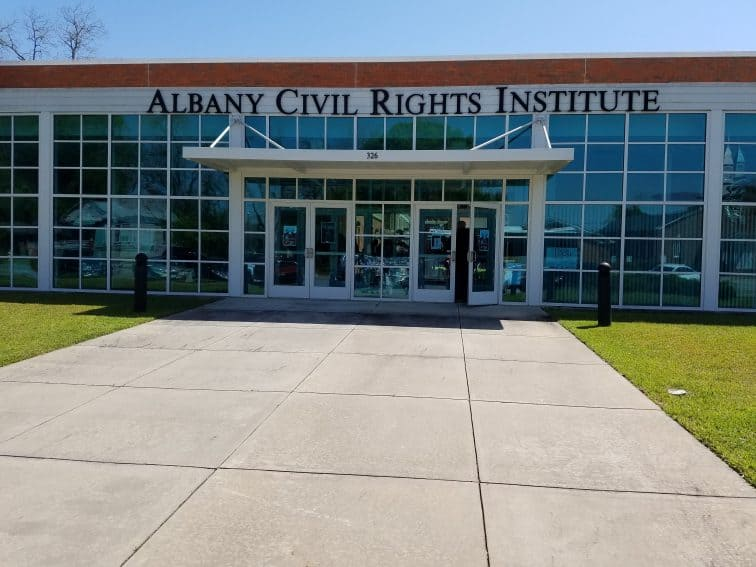 A Picture of the Exterior of the Albany Civil Rights Institute by Fran Folsom