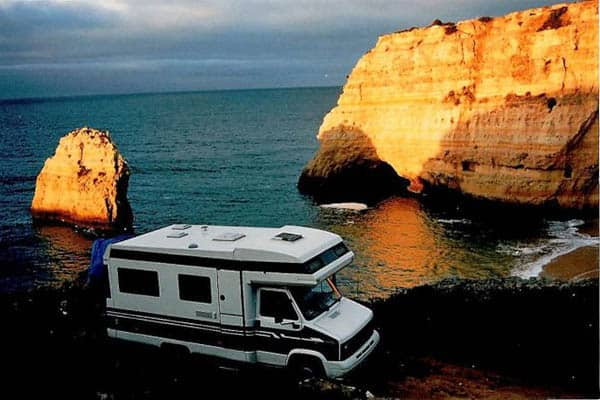The Rich's RV in Portugal's Algarve region.