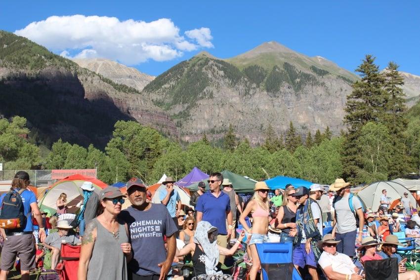 Telluride Bluegrass Festival Telluride Colorado