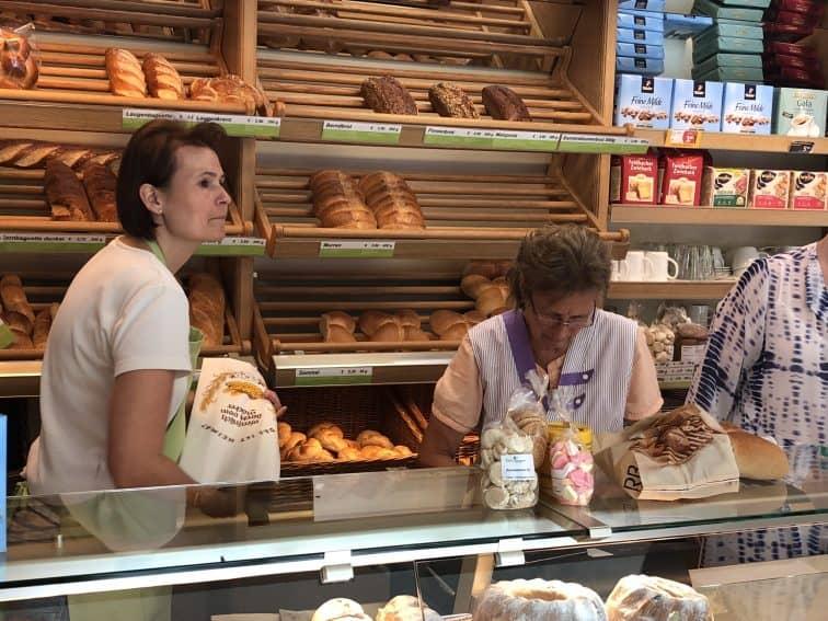 A small bakery in Schwarzenberg, Austria.