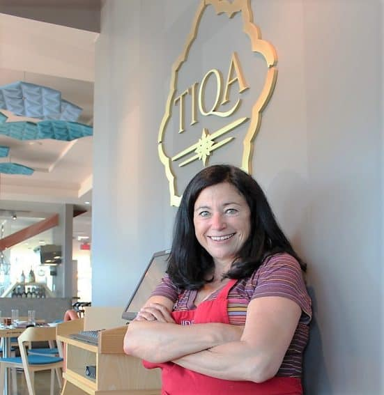 Carol Mitchell's inspired restaurant, Tiqa, is a yummy blend of inspiration and passion for Pan Mediterranean food.