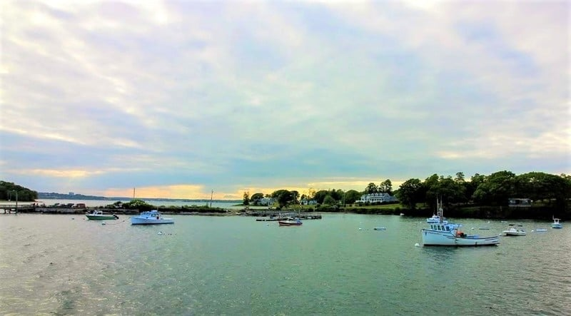The ferry ride on Casco Bay is an easy, inexpensive tour of the islands.