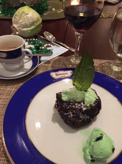 Everything is elegant at the wonderful Houmas House, including dessert. | GoNOMAD Travel