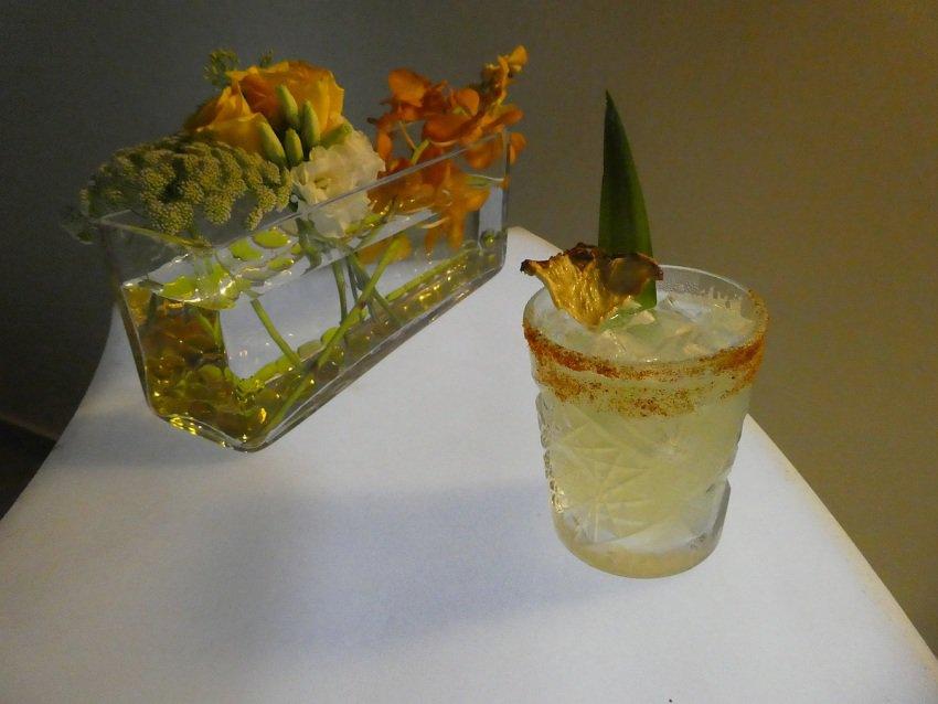 Competition worthy cocktail created by Iberostar's master mixologist Eduardo Aler Zarak Sanchez