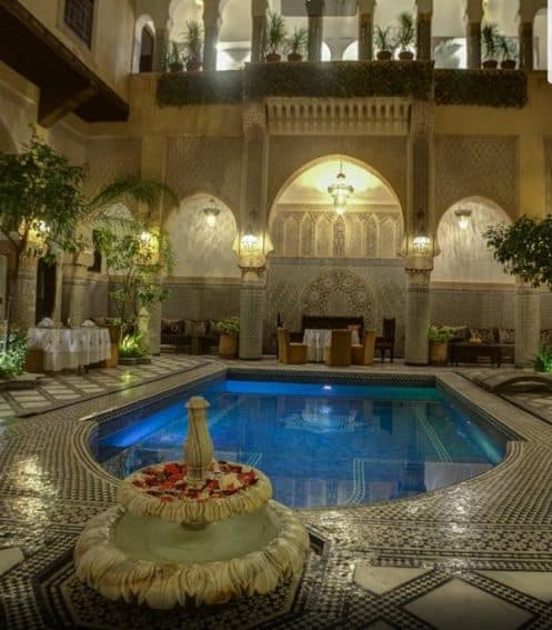 Inside the oasis-the Riad Salam Fes