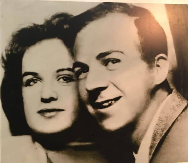 Marina and Lee Harvey Oswald.
