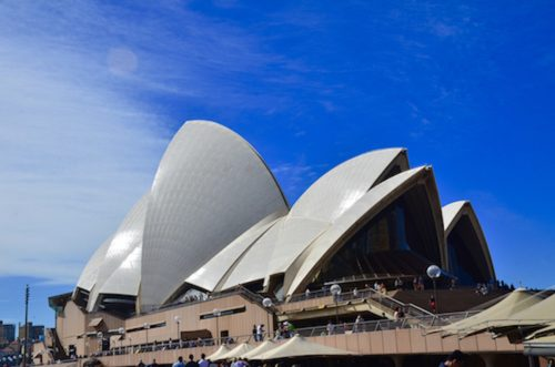 The Sydney Opera House is Australia's number one tourist attraction