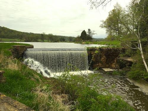 The dam Frank built.