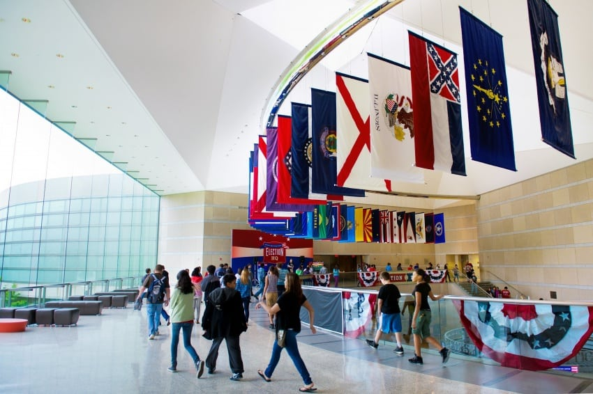 The Grand Hall of the Constitution Center.