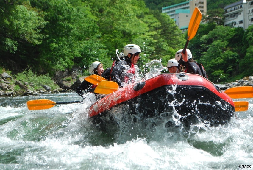 Flooding With Fun: Japan's Kinu River