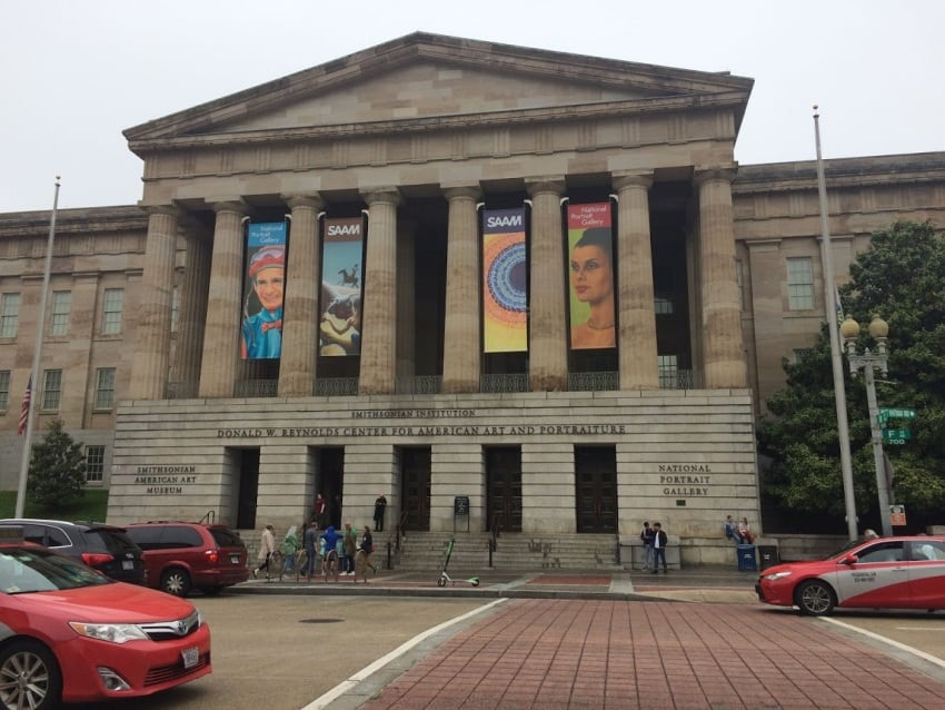 The Smithsonian National Portrait Gallery