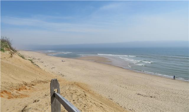 A beach day at the Cape Cod National Seashore.