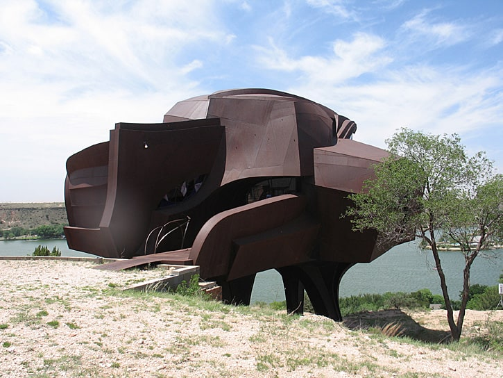 Steel House, Ransom Canyon, Texas (Photo by Susan McKee)