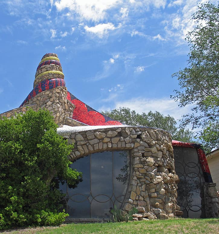 Stone House, Ransom Canyon, Texas (Photo by Susan McKee)