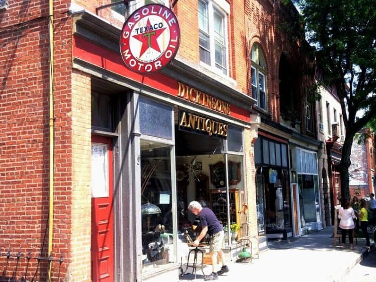 Quaint Main Street is peppered with boutiques, antique shops, and a cornucopia of restaurants. No car necessary.