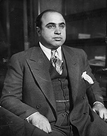 Al Capone as a key figure in the history of Route 66 for his time spent in Cicero, Illinois.