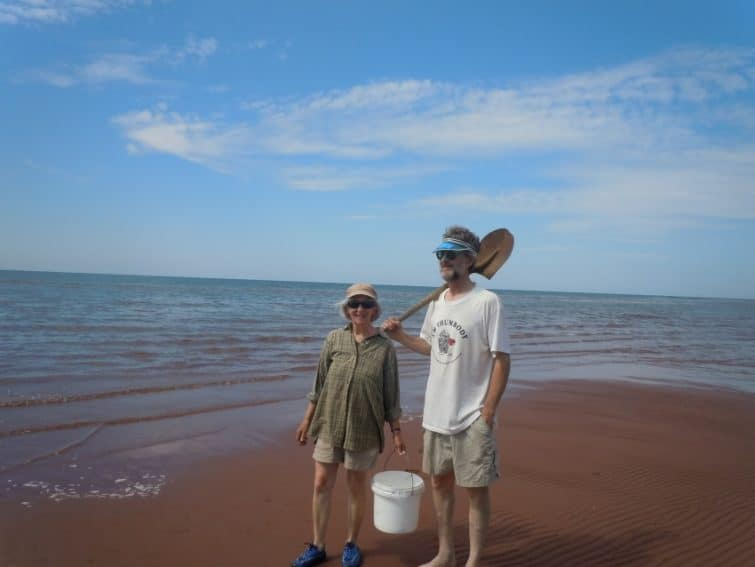 Servas hosts on Prince Edward Island, Canada.