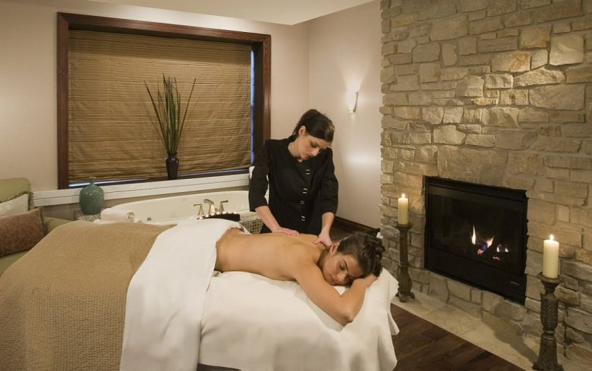 Among the services offered at Aspira Spa are massages, facials, manicures, pedicures, yoga and mediation classes. There is a small cafe available to guests of the spa. (photo courtesy of Aspira Spa)