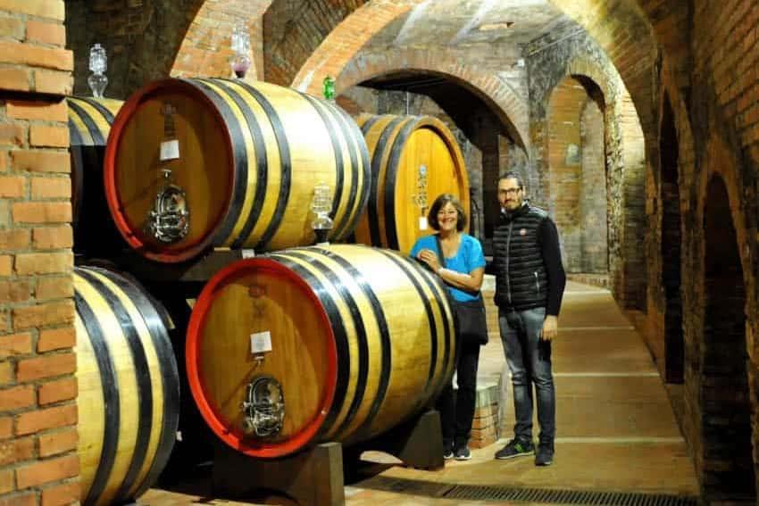 Cantina della Talosa vineyards