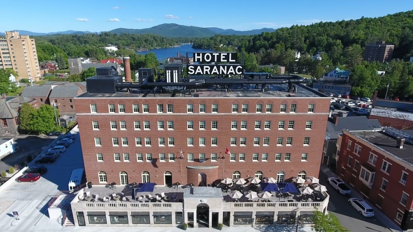 Constructed at the height of the Roaring Twenties, Hotel Saranac quickly became an icon of downtown Saranac Lake. Following an unprecedented head-to-toe renovation, the hotel was born anew in early 2018.