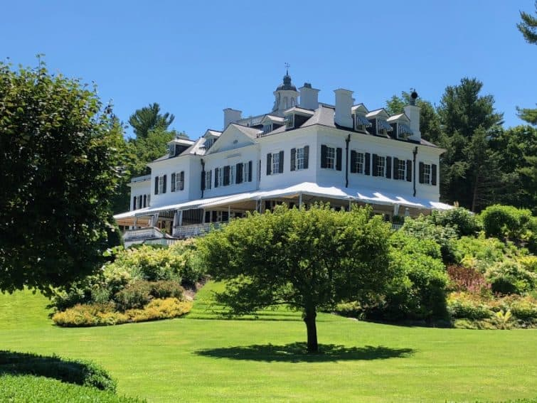 The Mount, built in 1902, was Edith Wharton's home for decades, and where she wrote most of her famous novels.