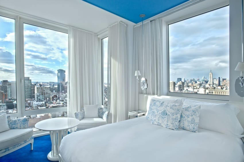 NoMo SoHo hotel room available for day-use rental .
