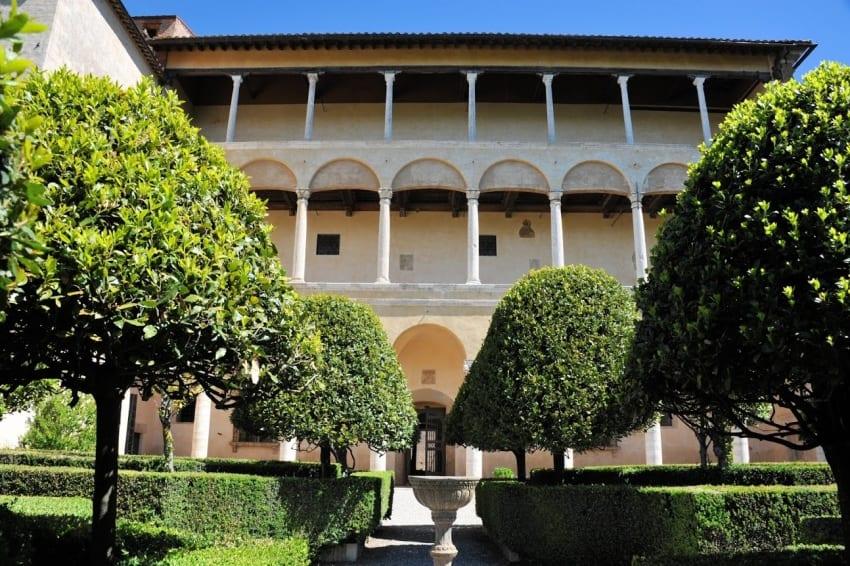 Palazzo Piccolomini, Pienza, Tuscany, Italy.