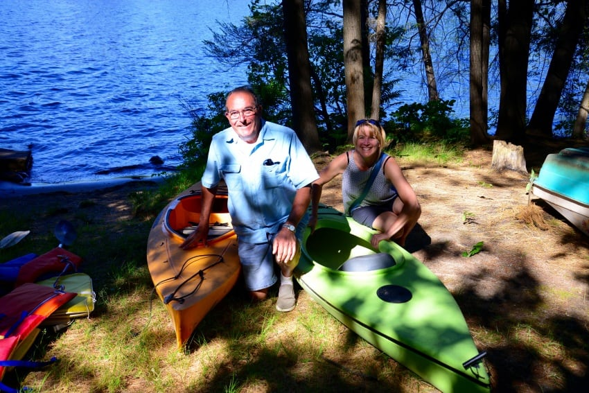 Outfitters like St. Regis Canoe or Adirondack Lakes and Trails can help you with all your canoe, kayak, SUP and more rental needs.