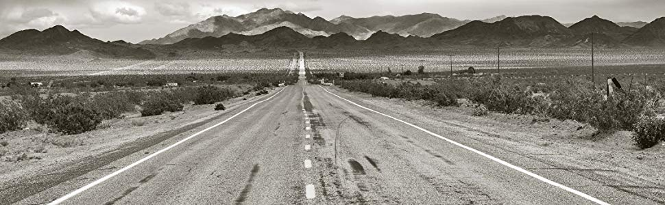 Photo of Route 66 from the novel by Michael Karl Witzel.