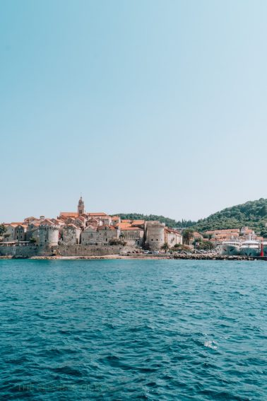 The pretty Croatian coast. Laura Orsini photos.