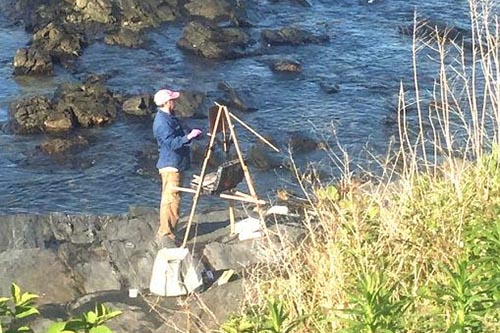 Maine's Plein Air Painters: Following the Masters