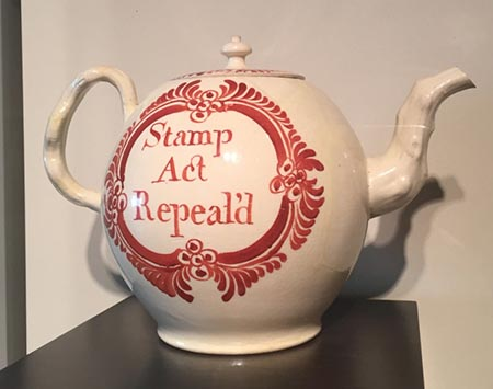 Teapot, Cockpit Hill Factory, England, 1766.