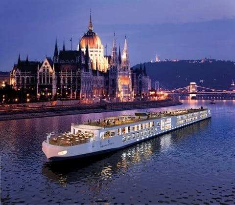 A rendering of Odin in Budapest, Hungary. Photo by Viking River Cruises.