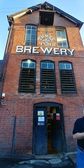 Three Tuns Brewery, Bishop's Castle, Shropshire.