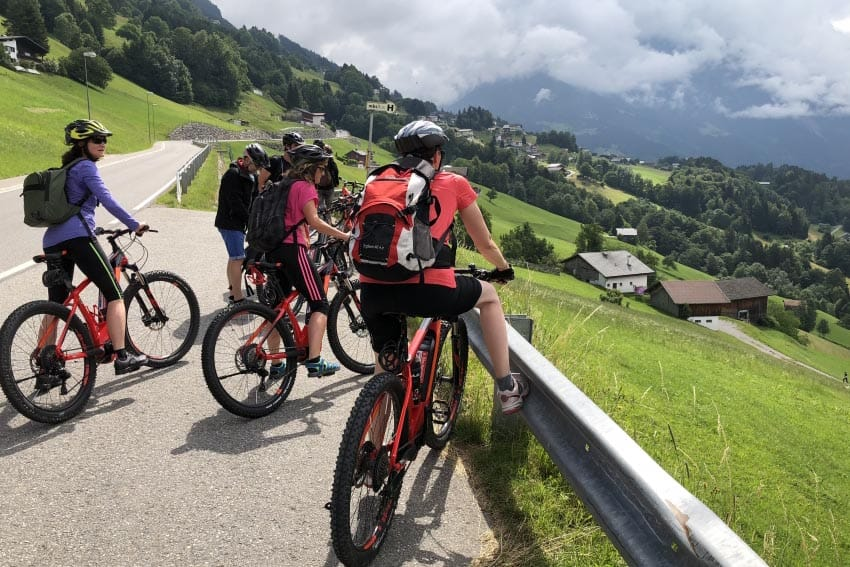 Austria: Mountain Biking in Montafon