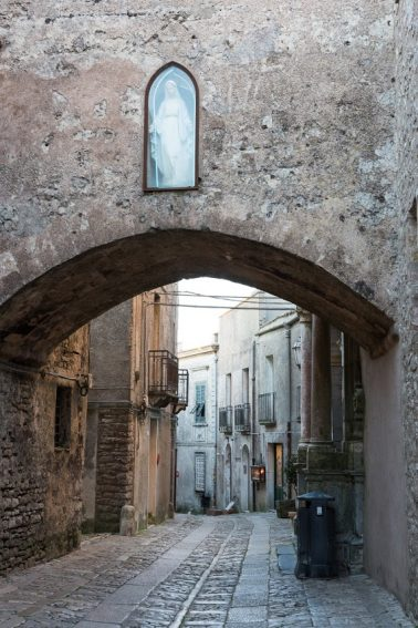A street in Erice.