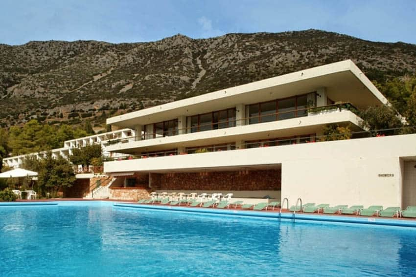 Hotel Amalia in Delphi, Greece.