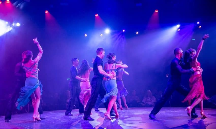 Koningsdam's own singers and dancers take to the World Stage during the cruise with a variety of evening performances.