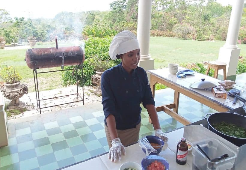 Yaaman Adventure Park's 'Flavours of Jamaica' cooking class