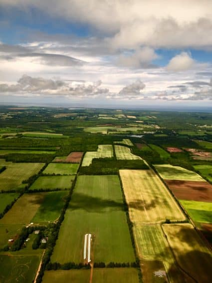 Prince Edward Island Farmland - photo by Rachael McGrath