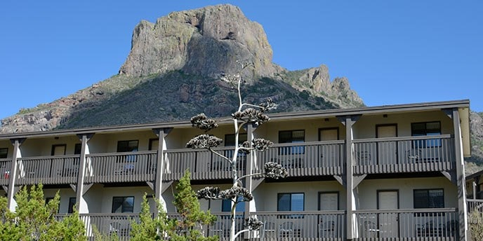 Chisos Lodge in the Big Bend National Park in West Texas. NPS photo.