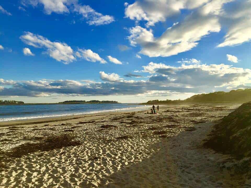 Crescent Beach, Cape Elizabeth Maine - photo by Rachael McGrath