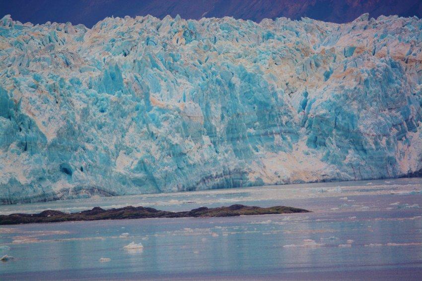 Hubbard Glacier in Alaska's Inside Passage.