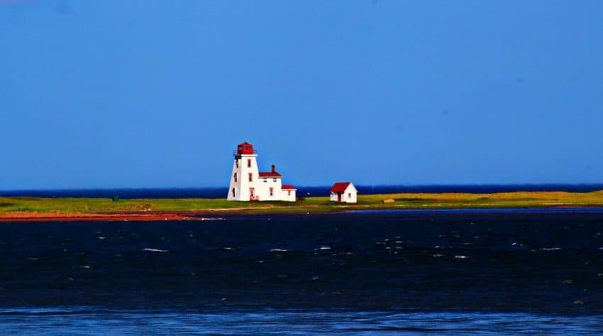 Cascumpec Lighthouse, Prince Edward Island, photo by Rachael McGrath